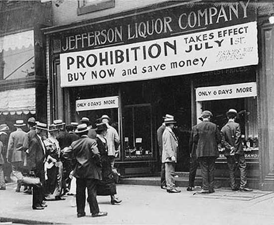 neo-Prohibtionism