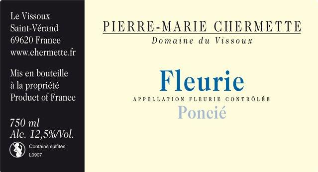 Pierre-Marie Chermette Fleurie Ponci